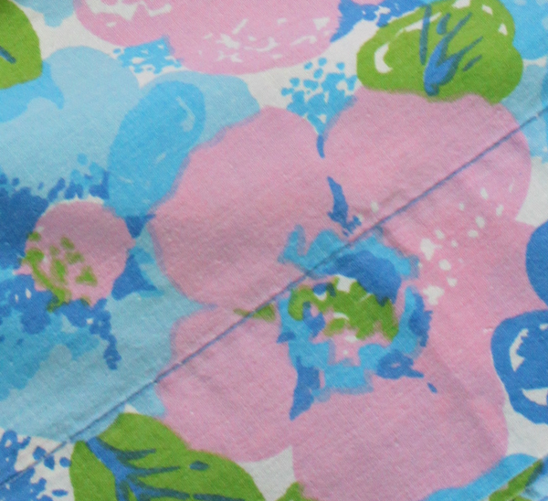 Thrift floral fabric