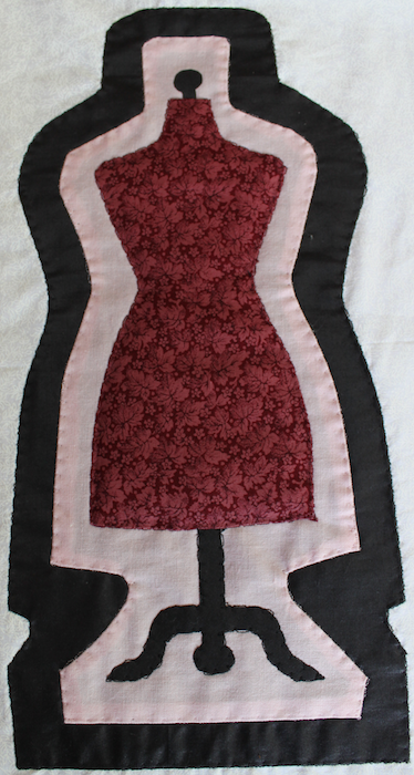 Dressform applique