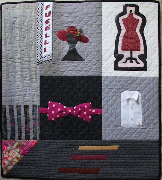 Fashionable Attire quilt