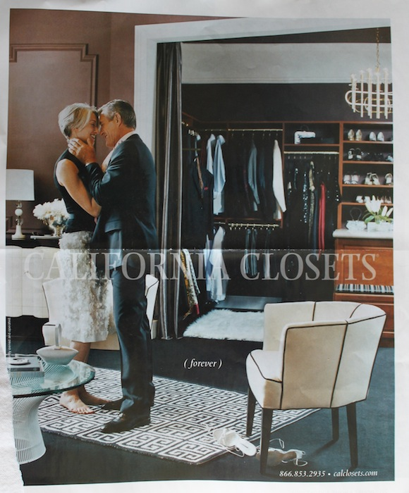 California Closets ad