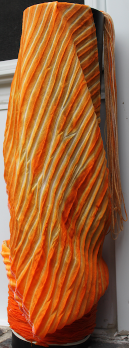 Dyeing creamsicle unwrapped
