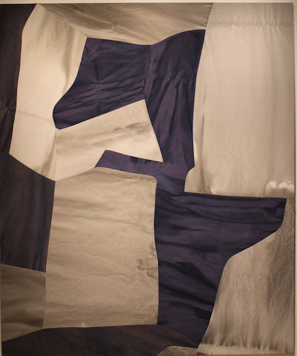 Counterpose by Colleen Heslin 2015, Ink and Dye on Cotton and Linen