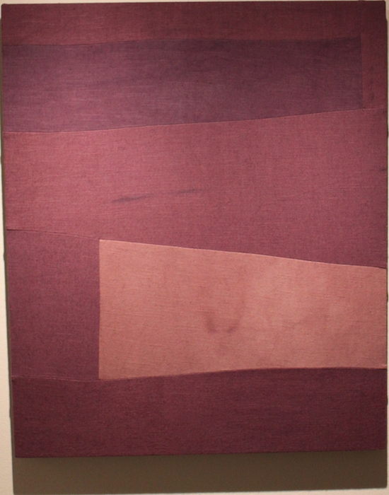 Monochrome by Colleen Heslin 2016, Dye on Linen