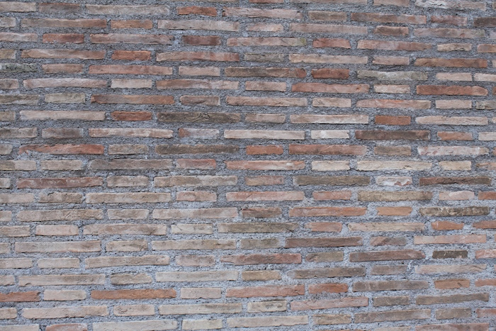 brick wall in rome italy photo taken by doris lovaidina-lee