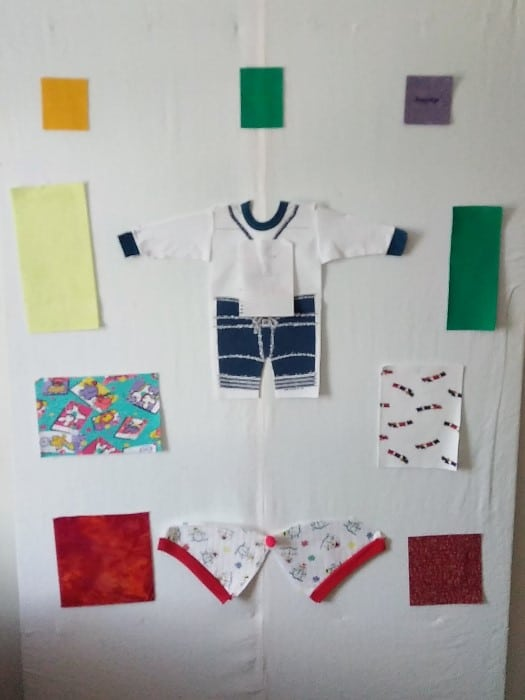 toronto maple leafs onsie for Our Baby Girl Forever Quilt by doris toronto ontario